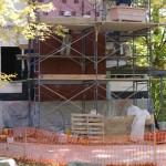 Brick work in progress, October 8, 2008