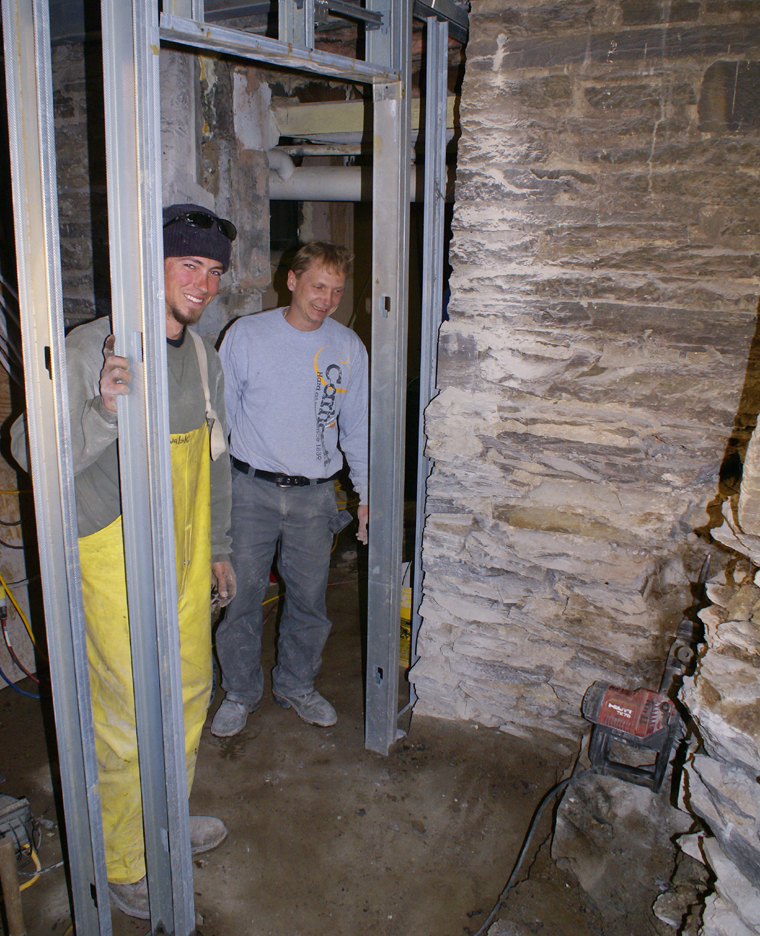 Full Connection into Cellar, April 24, 2009