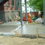 Final concrete pour, main floor, September 3, 2008