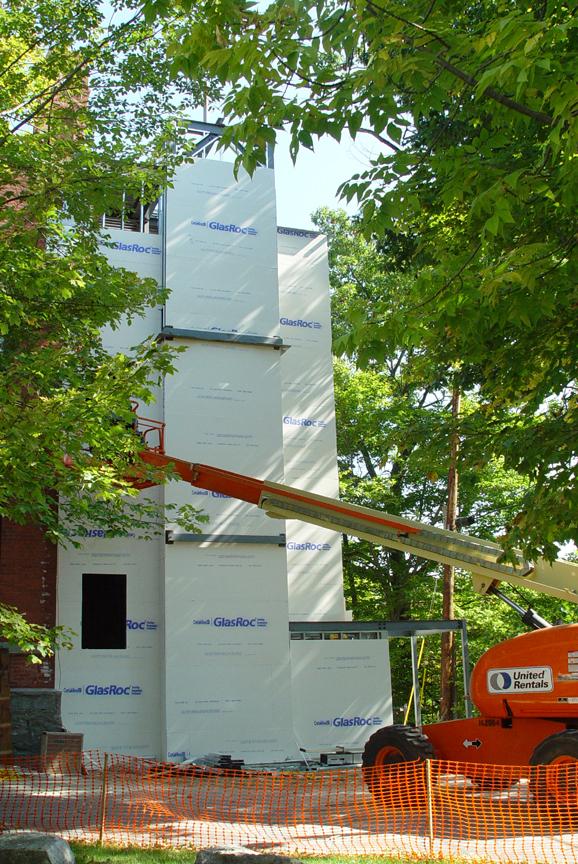 Partial Tower Enclosure, Sept. 23, 2008