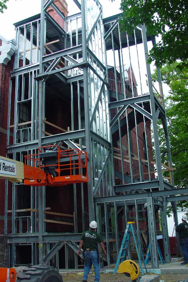 Preparing for Shell Installation, Sept. 12, 2008