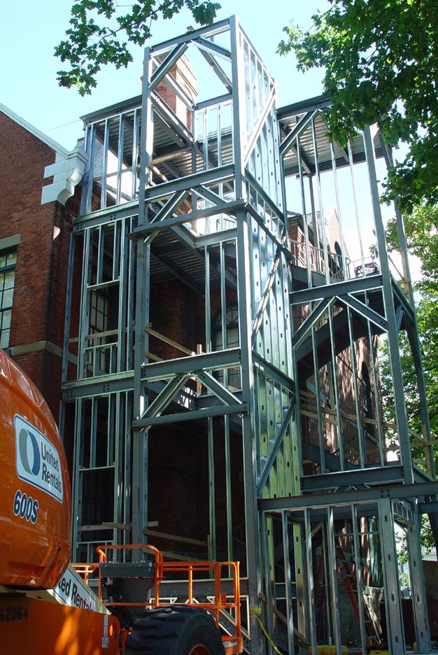 Preparing for Shell Installation, Sept. 15, 2008