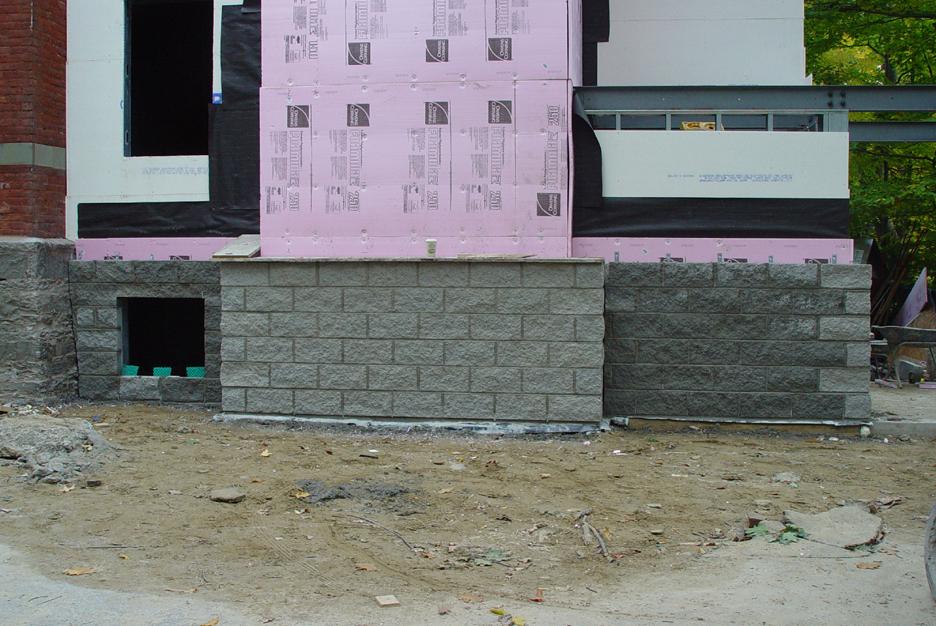 Split Block Siding, Sept. 30, 2008