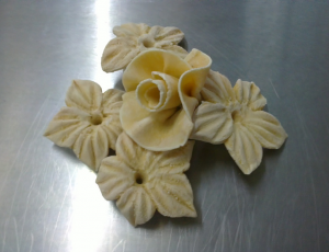 bread dough flowers