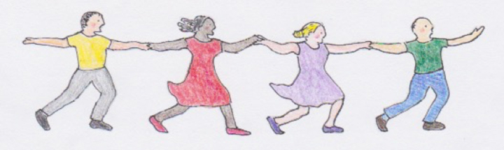 Illustration: Folk Dancing at Black River Academy Museum