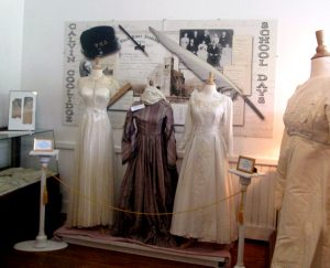 wedding display at black river academy museum